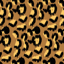 Vector Leopard Print Pattern,Background, Vector, Retro And Vintage Leopard Pattern .this Is High Resolution Print Ready Creative And Unique Pattern Design. You Can Use Anywhere Print Or Web.