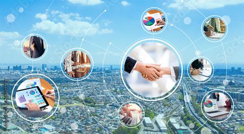 Tablou Canvas ビジネスネットワーク