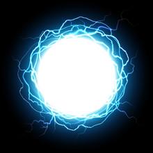 Energy Sphere. Electric Plasma...