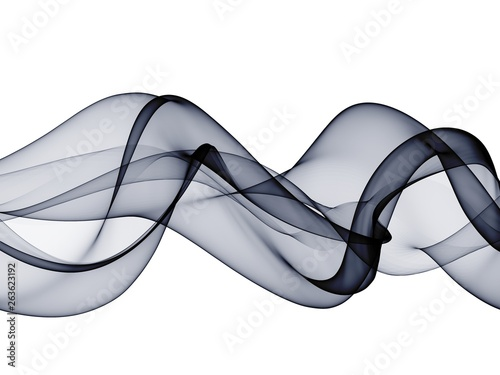 Fototapety, obrazy: Color abstract smoke waves design