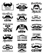 Movember Men Health Mustaches ...