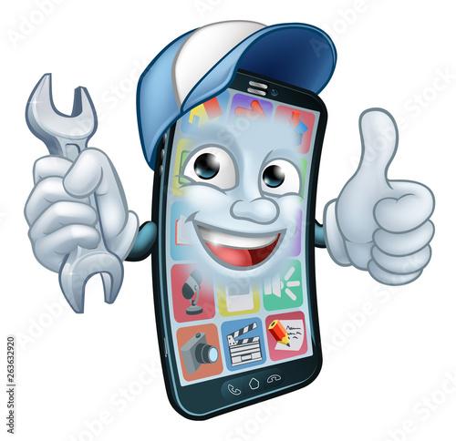 A mobile phone repair service or perhaps plumber or mechanic app