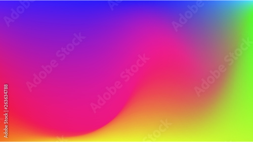 Photo  Abstract gradient  colorful  background.