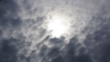 Sunshine Between Clouds