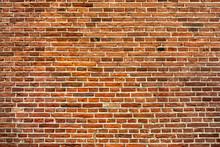 Orange Red Brick Wall Texture