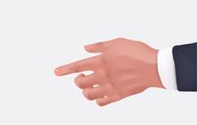 Human Hand Businessman  Reali...
