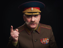 Parody Portrait Of A Russian M...