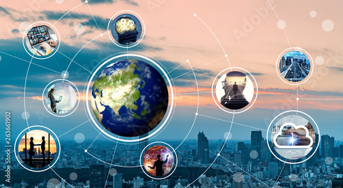 Fotografía  グローバルネットワーク