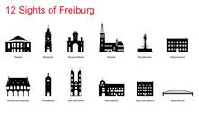 12 Sights Of Freiburg Im Breis...