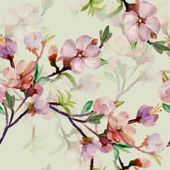 Panel Szklany Podświetlane Inspiracje na wiosnę Spring branch.