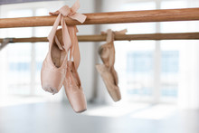 Old Pointe Shoes Hang On Balle...