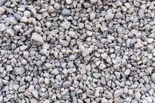 Mound Of Granite Gravel, Stone...