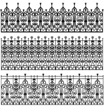 Forged Metal Fences
