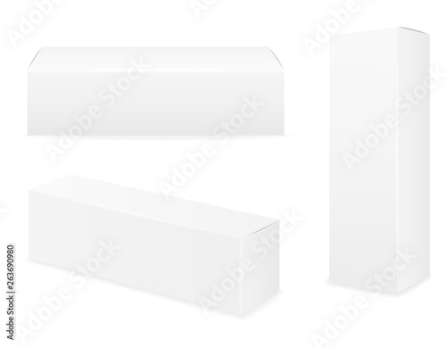 Box Packaging Of Toothpaste Empty Template For Design Stock Vector Illustration Buy This Stock Vector And Explore Similar Vectors At Adobe Stock Adobe Stock