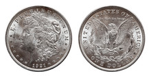 US Morgan Silver Dollar Coin M...
