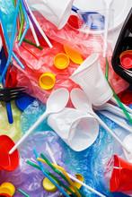 Plastic Waste Concept