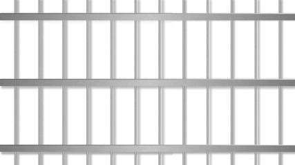 Prison jail bar . Prisoner cage.