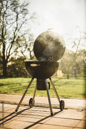 Deurstickers Grill / Barbecue Grill