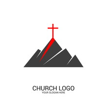 Church Logo And Christian Symb...