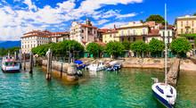 """Beautiful Lakes Of Italy - Scenic Lago Maggiore, Borromean Island """"Isola Bella"""""""