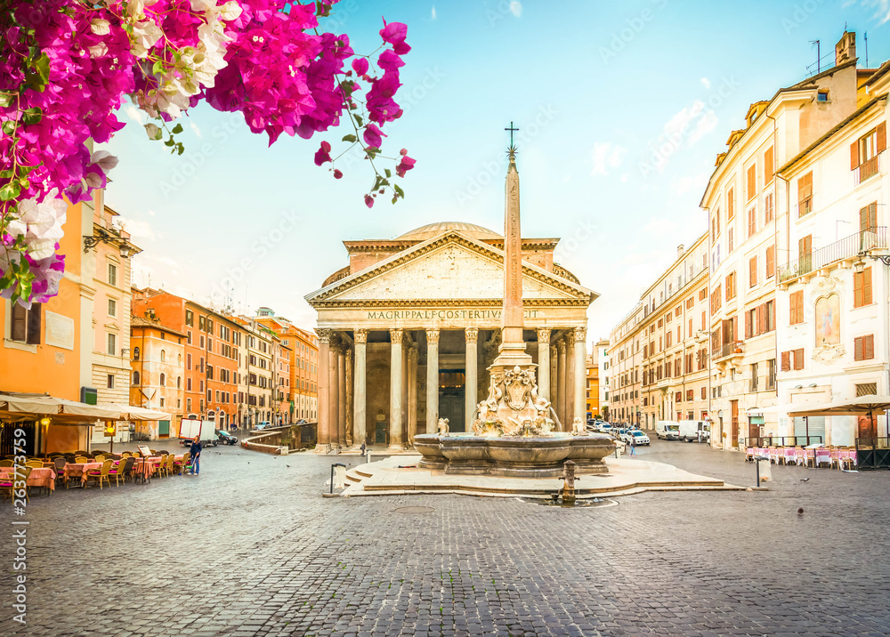 Fototapety, obrazy: Pantheon in Rome, Italy