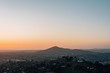 Sunset view from Mount Helix, in La Mesa, near San Diego, California
