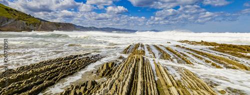Fotografie, Obraz  Praia de Zumaia