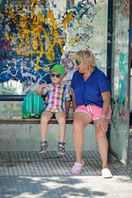 A Boy And His Grandmother In M...