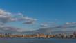 Skyline of midtown Manhattan of New York City, viewed from New Jersey, USA