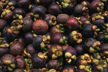 Mangosteen Fruit Pile