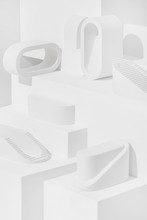 Abstract Forms - Background-Set Up Study.
