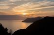 sunset over Cinque Terre Liguria Italy