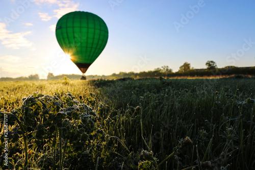 Fotografie, Obraz  Balloon in the early spring morning