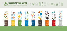 Waste Segregation And Recycling Infographic
