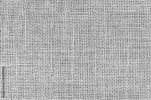 White burlap woven texture seamless Fototapet