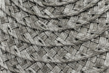 Woven Black And Grey Wicker St...