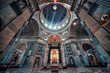 Leinwanddruck Bild - Inside the St Peter's basilica in the city of Vatican