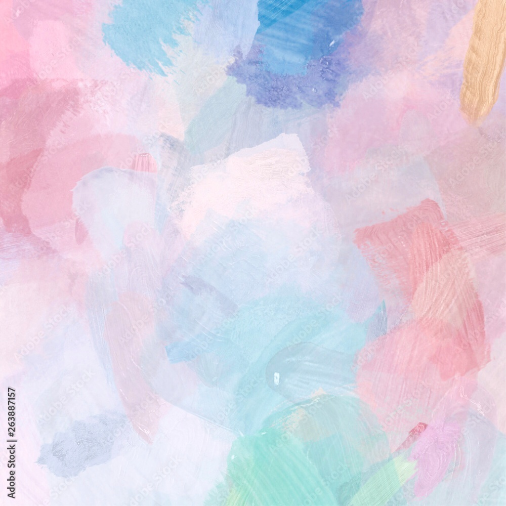 Fototapety, obrazy: abstract watercolor hand painted background