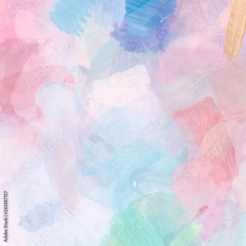 Photo  abstract watercolor hand painted background