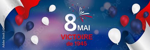 Photo  8 Mai - Victoire 1945. 8 Mai Victoire de 1945