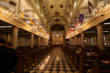 St. Louis Kirche In New Orleans, Luisiana, USA