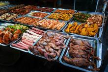 Asian Food In Hanoi In Vietnam...