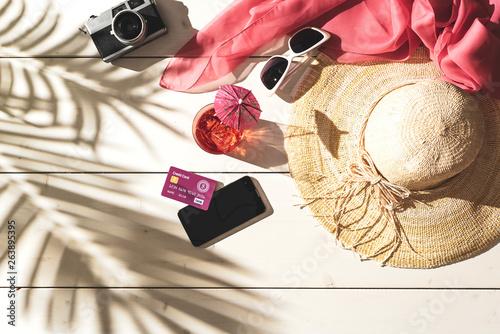 fototapeta na ścianę Summer beach vacations and tropical destinations