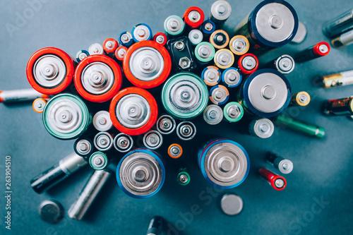 Fotografie, Obraz Battery recycling