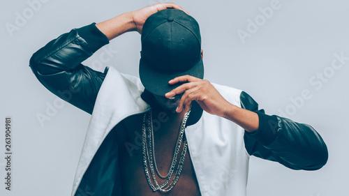 Cuadros en Lienzo Afro american urban guy