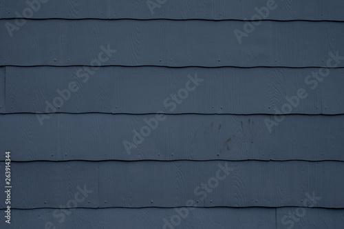 Blue Siding Background Fototapet