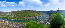 Hdr Panorama Of Cochem City