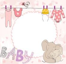 Vector Baby Shower.