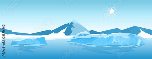 Vector Iceberg landscape #263916540