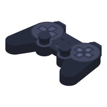Gamepad Icon. Isometric Of Gamepad Vector Icon For Web Design Isolated On White Background